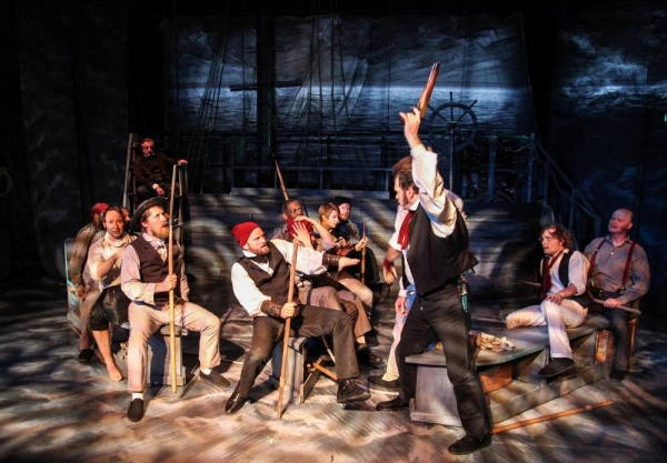 Photo Flash: First Look - Shattered Globe's THE WHALESHIP ESSEX, Now Playing Through 10/11