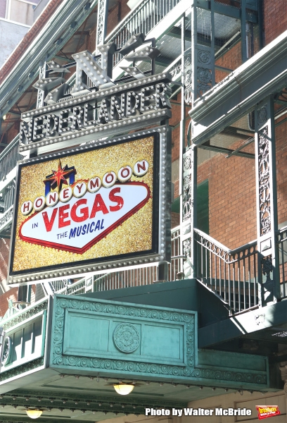 Up on the Marquee: HONEYMOON IN VEGAS