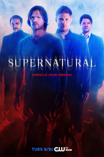 Photo Flash: New SUPERNATURAL Season 10 Poster