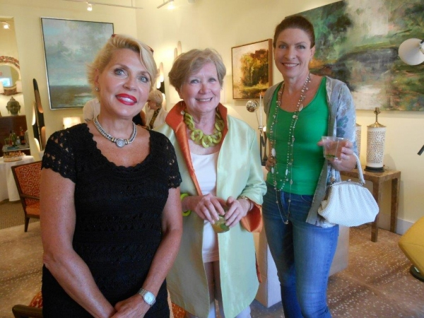 Photo Flash: Hagins & Mortimer Design Welcomes Low Country Plein Air Painter Linda Fantuzzo