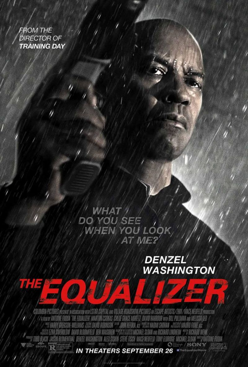 VIDEO: Denzel Washington Featured in New Trailer & Poster for THE EQUALIZER