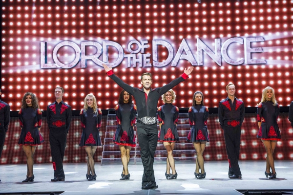 A scene from Lord Of The Dance, Dangerous Games by Michael Flatley @ London Palladium(Opening 2-09-14)©Tristram Kenton 08/14(3 Raveley Street, LONDON NW5 2HX TEL 0207 267 5550  Mob 07973 617 355)email: tristram@tristramkenton.com