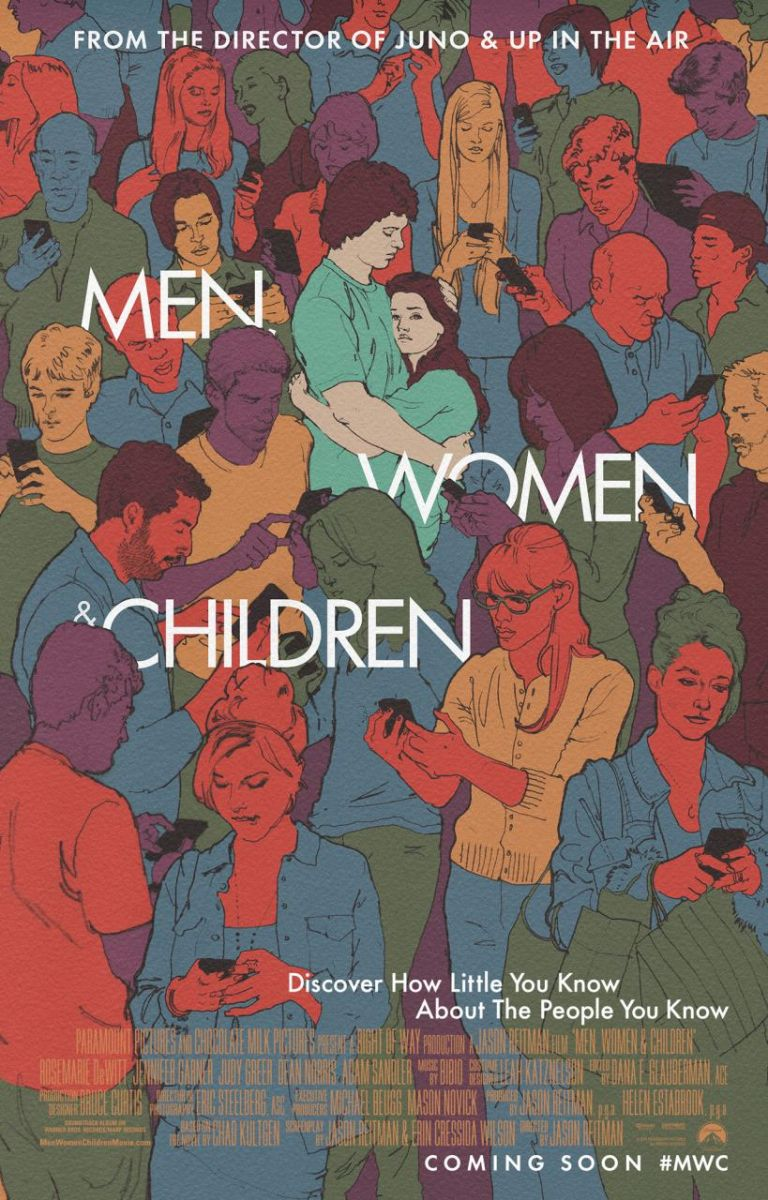 First Look - New Poster Art for Jason Reitman's Jason Reitman's MEN WOMEN & CHILDREN