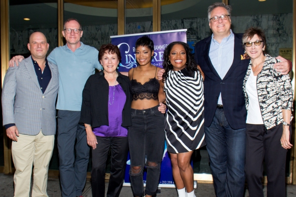Photo Coverage: A Fairytale Cast! New CINDERELLA Stars Keke Palmer, Sherri Shepherd & Judy Kaye Meet the Press