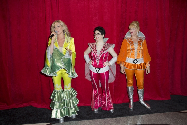 Judy McClane, Lauren Cohn and Stacia Fernandez
