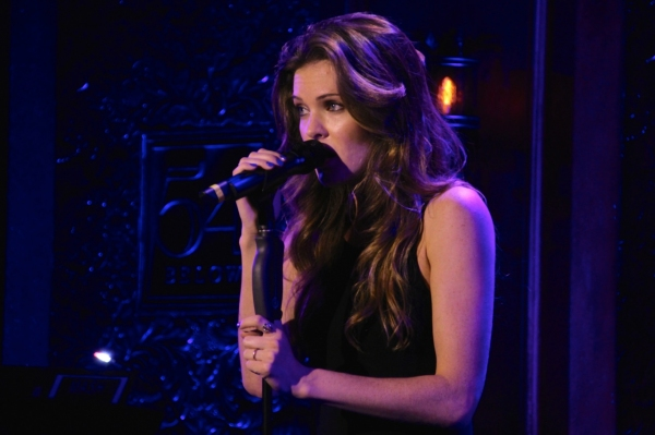 Meghann Fahy sings a mash-up of Sara Bareilles's ''December'' and the Counting Crows'' ''A Long December.''
