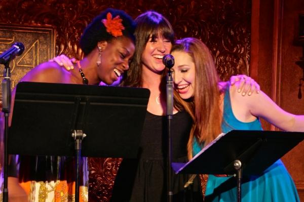 Bre Jackson, Tara Minogue, and Lacey Angerosa. Photo