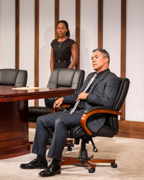 Photo Flash: First Look at Chris Bauer, Dominic Hoffman, Jonno Roberts and DeWanda Wise in CTG's RACE