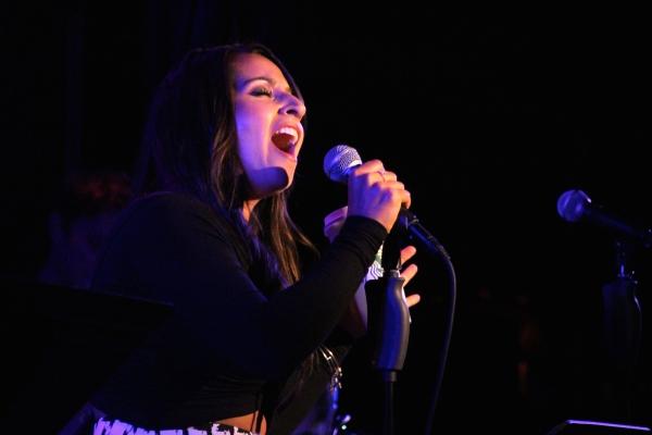 Natalie Gallo performs ''The Rain It Falls''