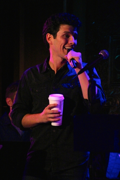 Nick Cosgrove performs ''One Day''
