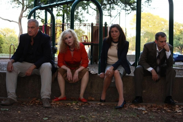 Brad Baker as Michael, Andi Allen as Veronica, Stephanie Riggs as Annette, Jeff Swearingen as Alan