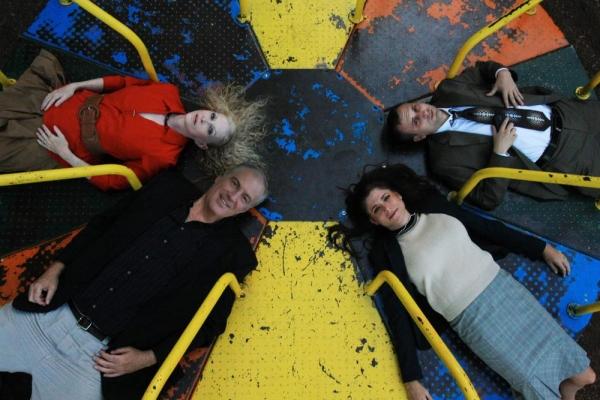 Top left: Andi Allen as Veronica; bottom left: Brad Baker as Michael; top right: Jeff Photo