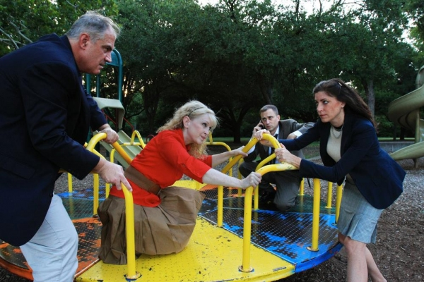 Brad Baker as Michael, Andi Allen as Veronica, Jeff Swearingen as Alan, Stephanie Rig Photo