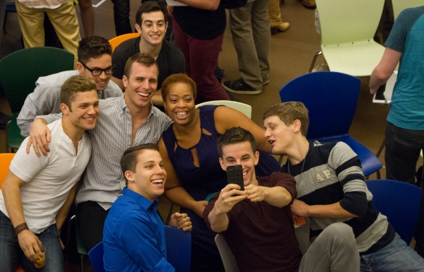 Photo Flash: Inside the First Day of Rehearsal for NEWSIES National Tour; Dan DeLuca Set to Lead - Full Company Announced!