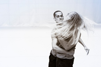 Shaun Oelf, Gunilla Hammar in STRUCK SILENT Photo credit Oscar O'Ryan
