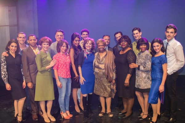 Cissy Houston and the Cast of PIECE OF MY HEART