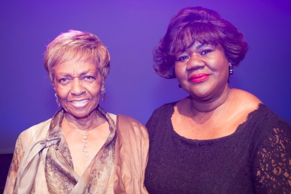 Photo Flash: Cissy Houston Visits PIECE OF MY HEART Off-Broadway