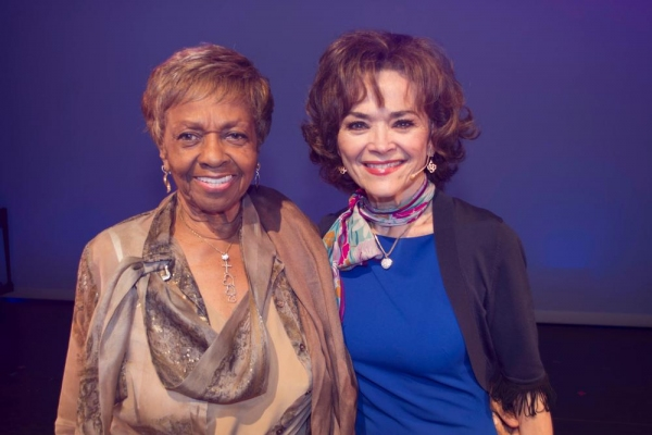 Cissy Houston and Linda Hart