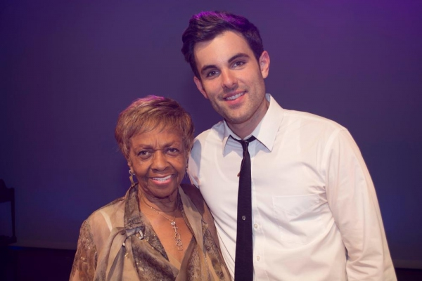 Cissy Houston and Zak Resnick