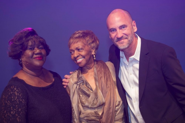 Teresa Gattison, Cissy Houston and Brett Berns