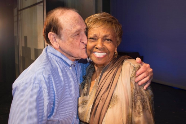 Garry Sherman and Cissy Houston