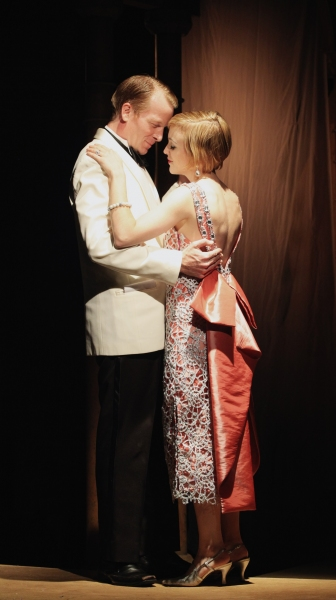 Sara Clark as Daisy Buchanan and Jared Joplin as Jay Gatsby