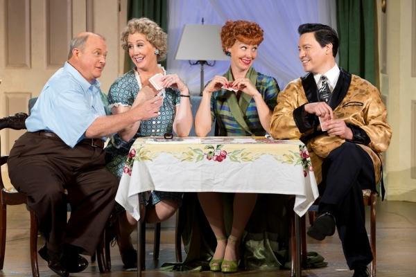Kevin Remington (Fred), Joanna Daniels (Ethel), Sirena Irwin (Lucy), and Bill Mendieta (Ricky)