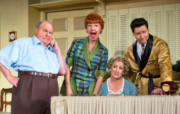 Kevin Remington (Fred), Sirena Irwin (Lucy), Joanna Daniels (Ethel) and Bill Mendieta (Ricky)