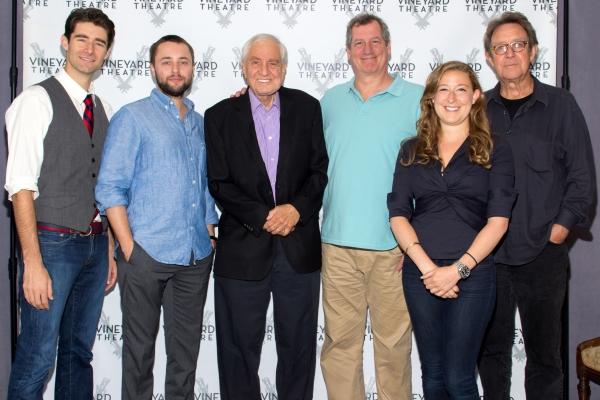Drew Gehling, Vincent Kartheiser, Garry Marshall, Mike Bencivenga, Sophie von Haselbe Photo