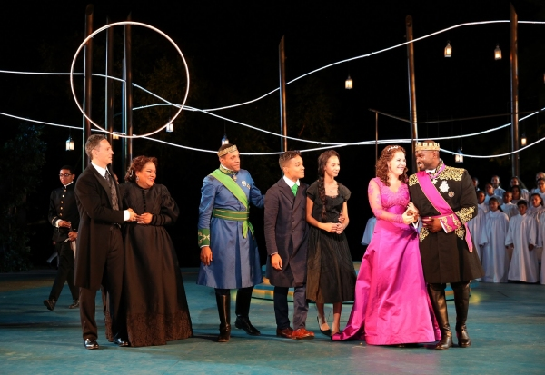 "Llewellyn ""LC"" Connolly, Lori Brown-Niang, Michael Roberts, Javier Spivey, Idania Quezada, Lindsay Mendez and Isaiah Washington"