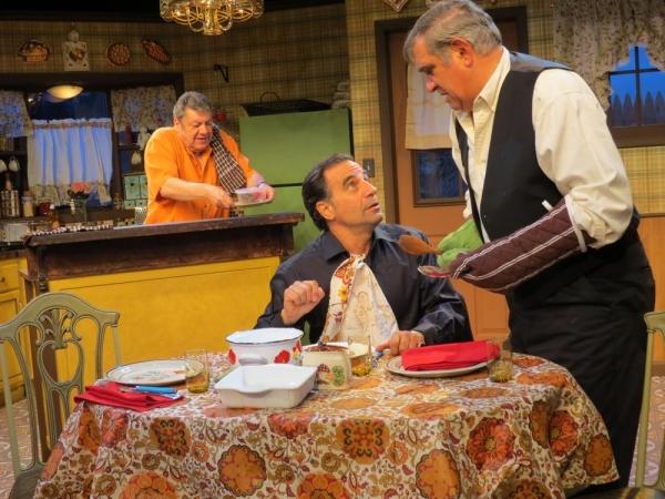 Richard Zavaglia, Ray Abruzzo, and Dan Lauria
