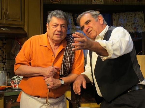 Richard Zavaglia and Dan Lauria