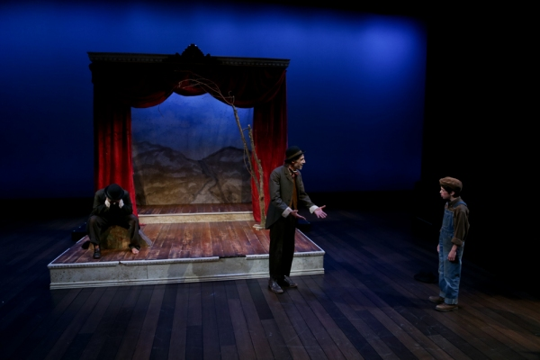 Photo Flash: First Look at Seattle Shakespeare's WAITING FOR GODOT, Opening Tonight