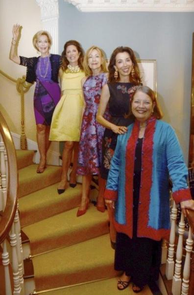 Anka Palitz, Ann Van Ness, Janice Becker, Fe Saracino Fendi, Cynthia Fischer