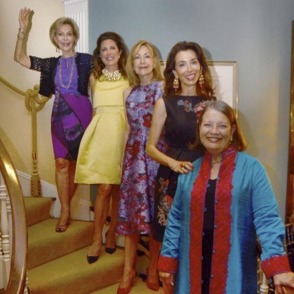 Anka Palitz, Ann Van Ness, Janice Becker, Fe Fendi, Cynthia Fischer Photo