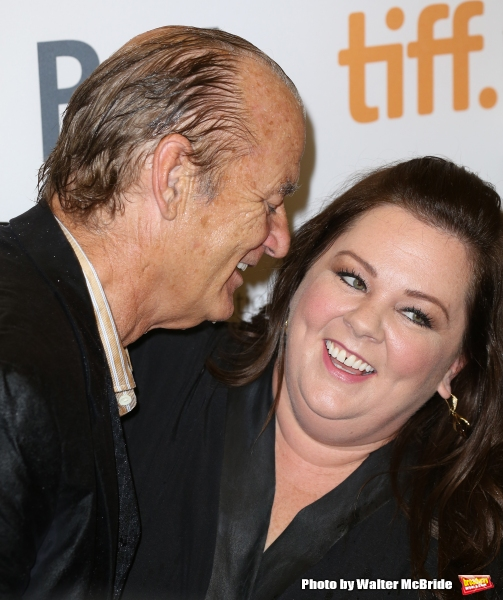 Bill Murray and Melissa McCarthy