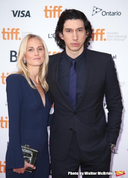 Adam Driver and wife Joanne Tucker
