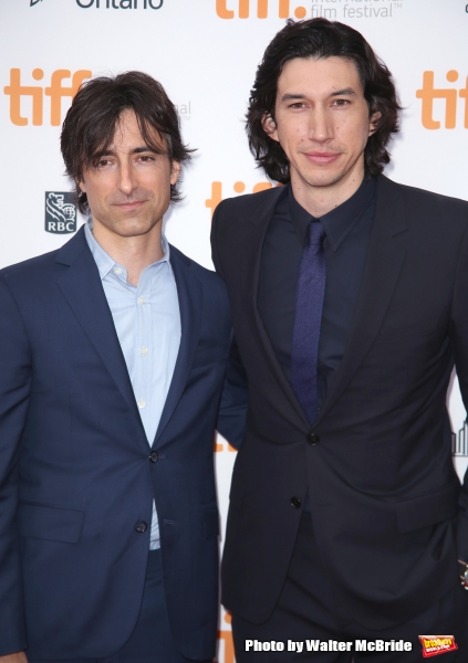 Noah Baumbach and Adam Driver