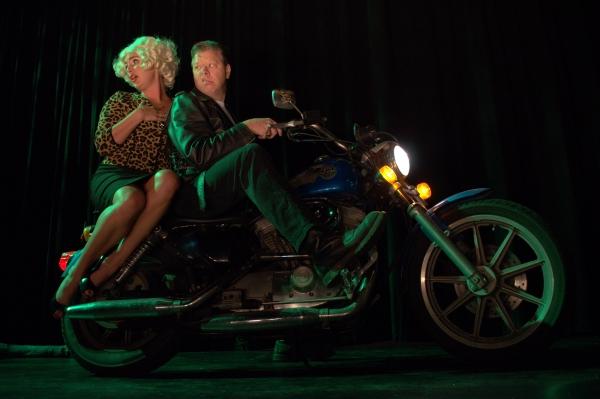 Alex Davis-Brazill as Audrey & Rodney Sherwood as Orin