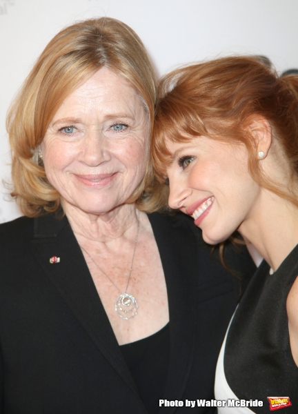 Liv Ullman and Jessica Chastain