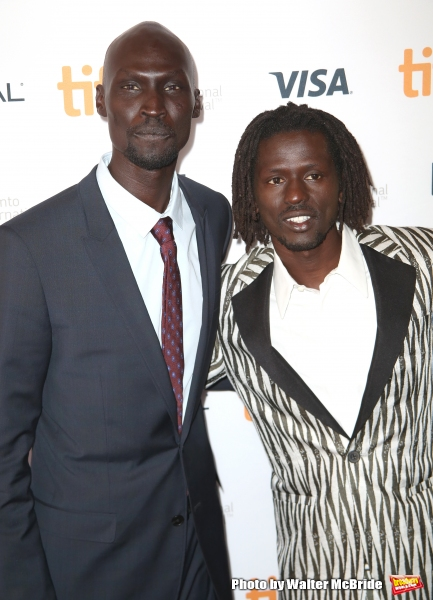 Ger Duany and Emmauel Jal