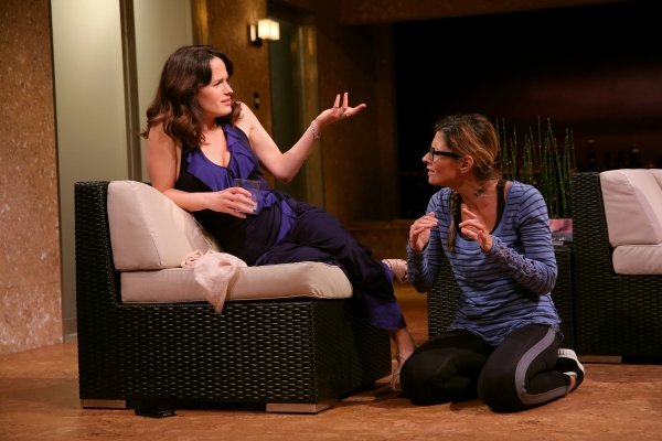 Elizabeth Reaser and Callie Thorne