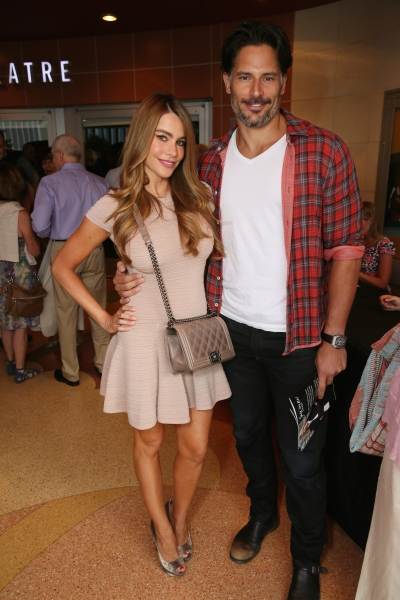 From lefActors Sofi­a Vergara and Joe Manganiellot, actors Sof�'­a Vergara and Joe Manganiello arrive for the opening night performance of David Mamet''s ''Race'' at Center Theatre Group''s Kirk Douglas Theatre on September 7, 2014, in Culver City