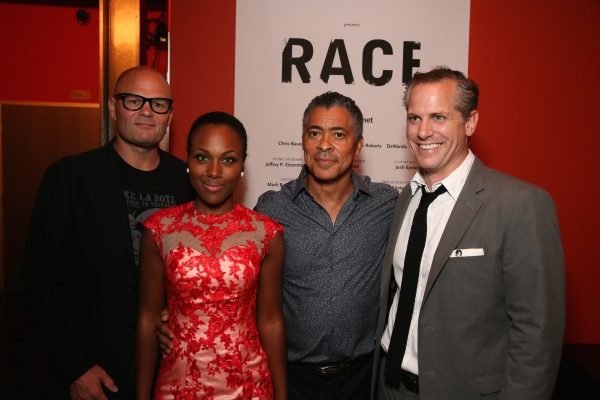 Cast members Chris Bauer, DeWanda Wise, Dominic Hoffman and Jonno Roberts