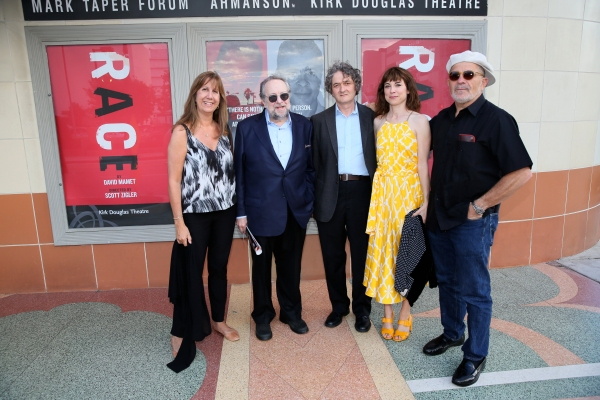 Chrisann Verges, actor Ricky Jay, Director Scott Zigler, actress Rebecca Pidgeon and Playwright David Mamet