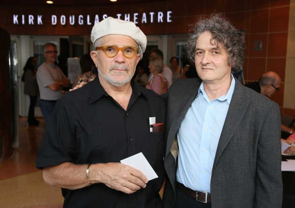 Playwright David Mamet and Director Scott Zigler