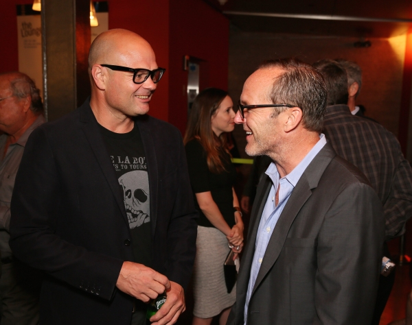 Cast member Chris Bauer and actor Clark Gregg