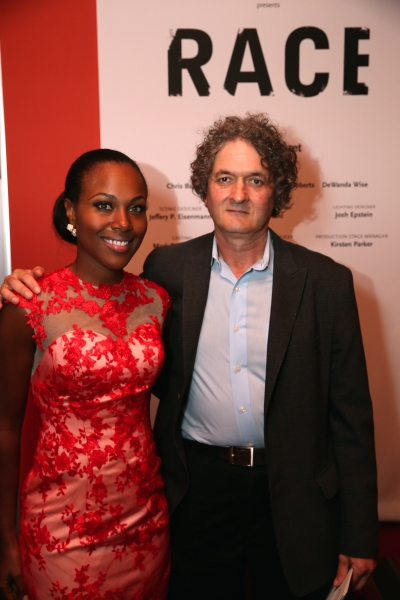 Cast member DeWanda Wise and Director Scott Zigler