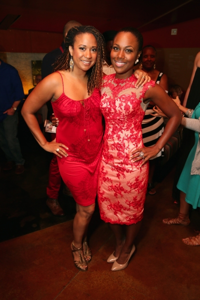 Actress Tracie Thoms and cast member DeWanda Wise