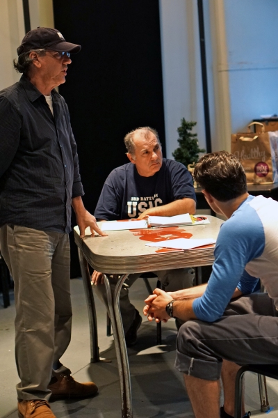 Photo Flash: In Rehearsal with Joe Lisi, Karen Ziemba and More for ALMOST HOME Off-Broadway